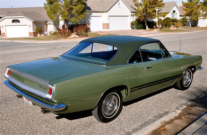 1968 Plymouth Barracuda 383 Formula S