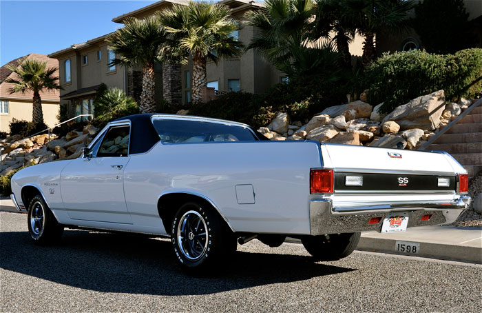 1970 Chevrolet El Camino SS 454 LS6 | Red Hills Rods and ...