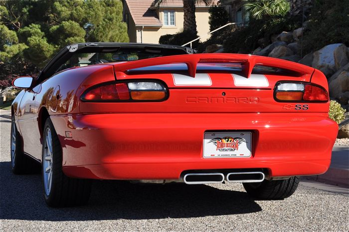 2002 Chevrolet Camaro Z28 Ss Slp Convertible Red Hills Rods And Choppers Inc St George Utah