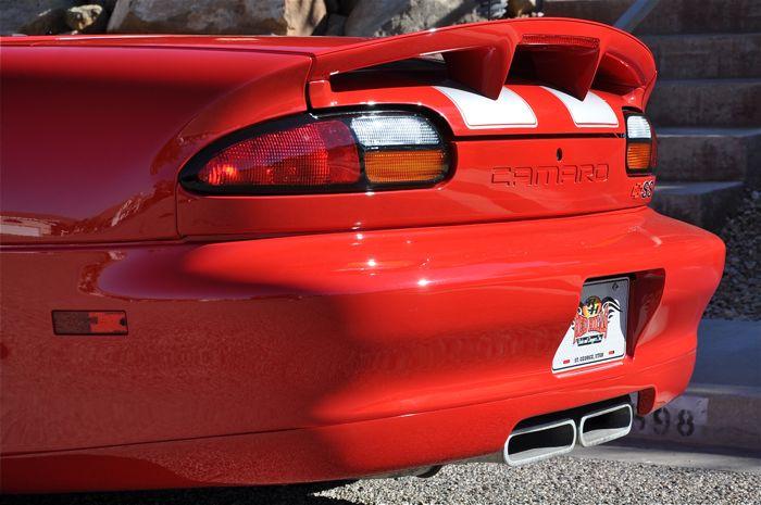 2002 Chevrolet Camaro Z28 Ss Slp Convertible Red Hills