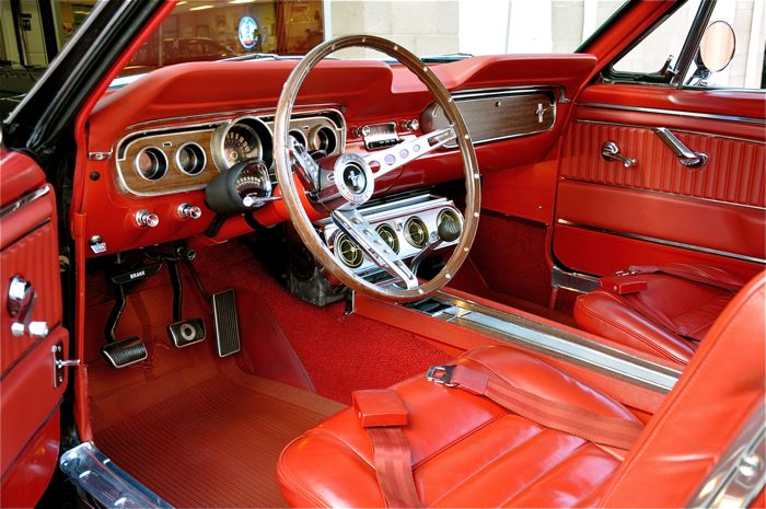1965 Ford Mustang Gt A Code Red Hills Rods And Choppers