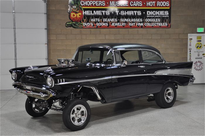 1957 Chevrolet Bel Air Gasser | Red Hills Rods and ...
