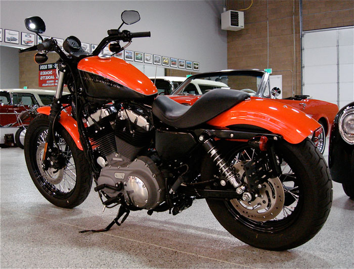 2007 harley davidson 1200n nightster | red hills rods and choppers