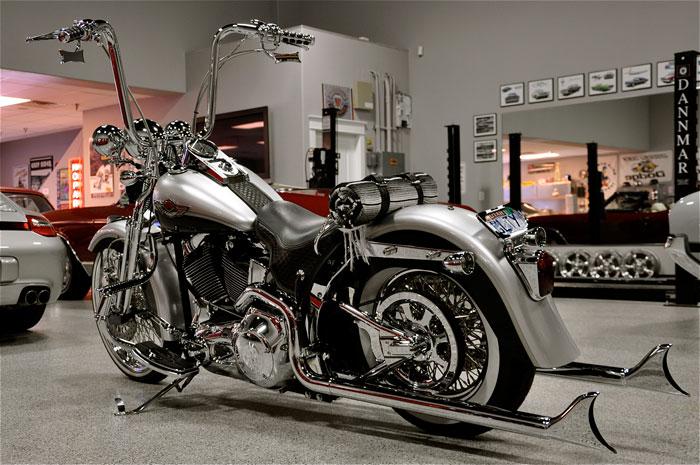 2003 Harley Davidson Convict Springer Red Hills Rods And