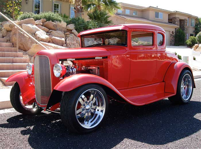 1931 ford 5 window coupe street rod red hills rods and. Black Bedroom Furniture Sets. Home Design Ideas
