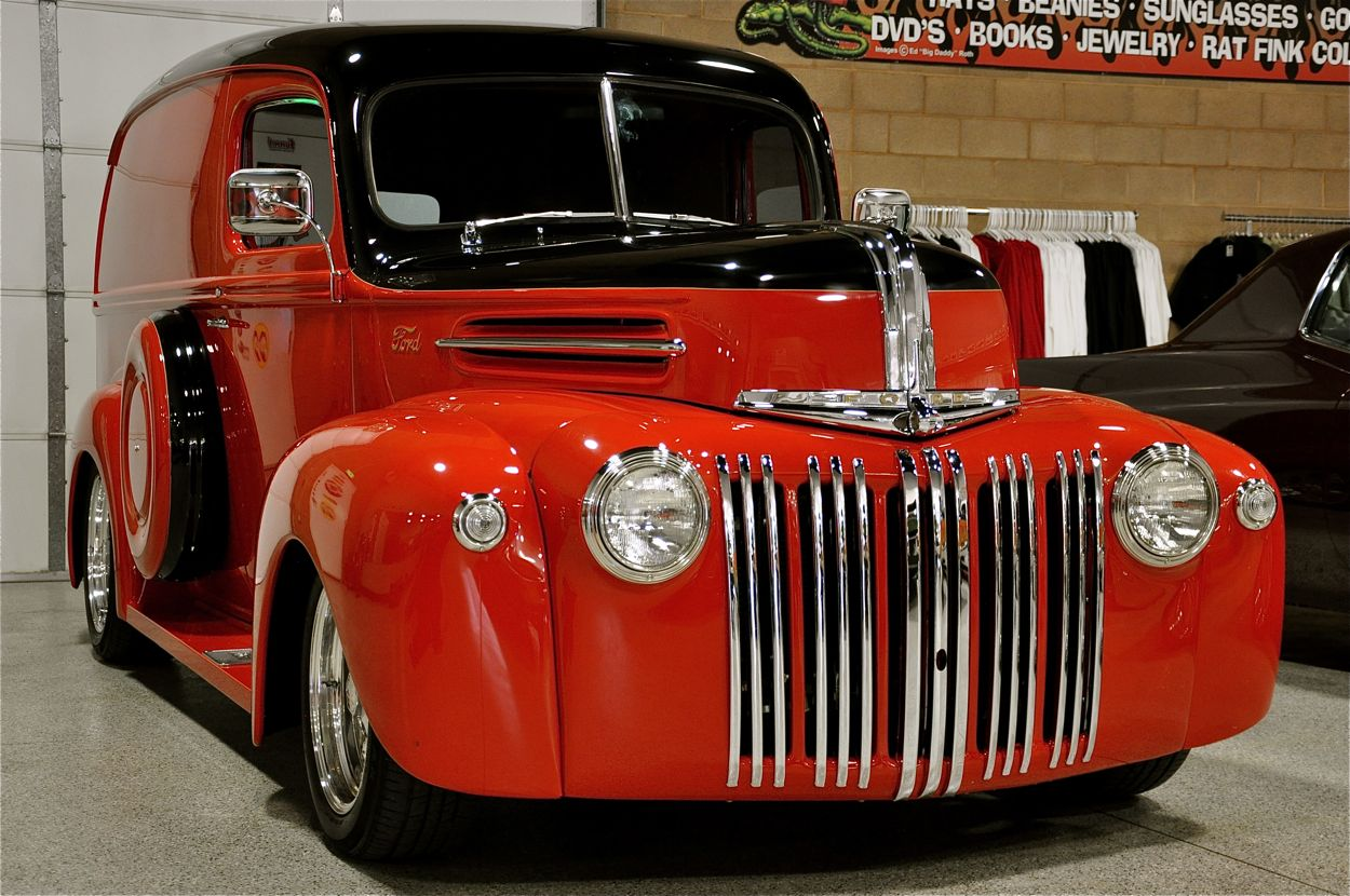 Bill Hood Ford >> 1947 Ford Panel Truck | Red Hills Rods and Choppers Inc. - St. George Utah