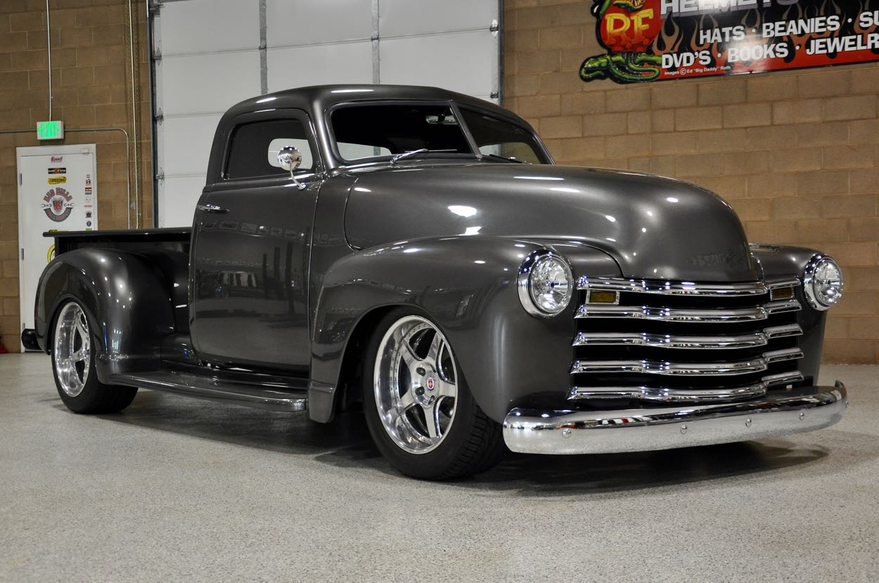 Pickup 1949 chevrolet pickup : 1949 Chevrolet Kustom Pickup   Red Hills Rods and Choppers Inc ...