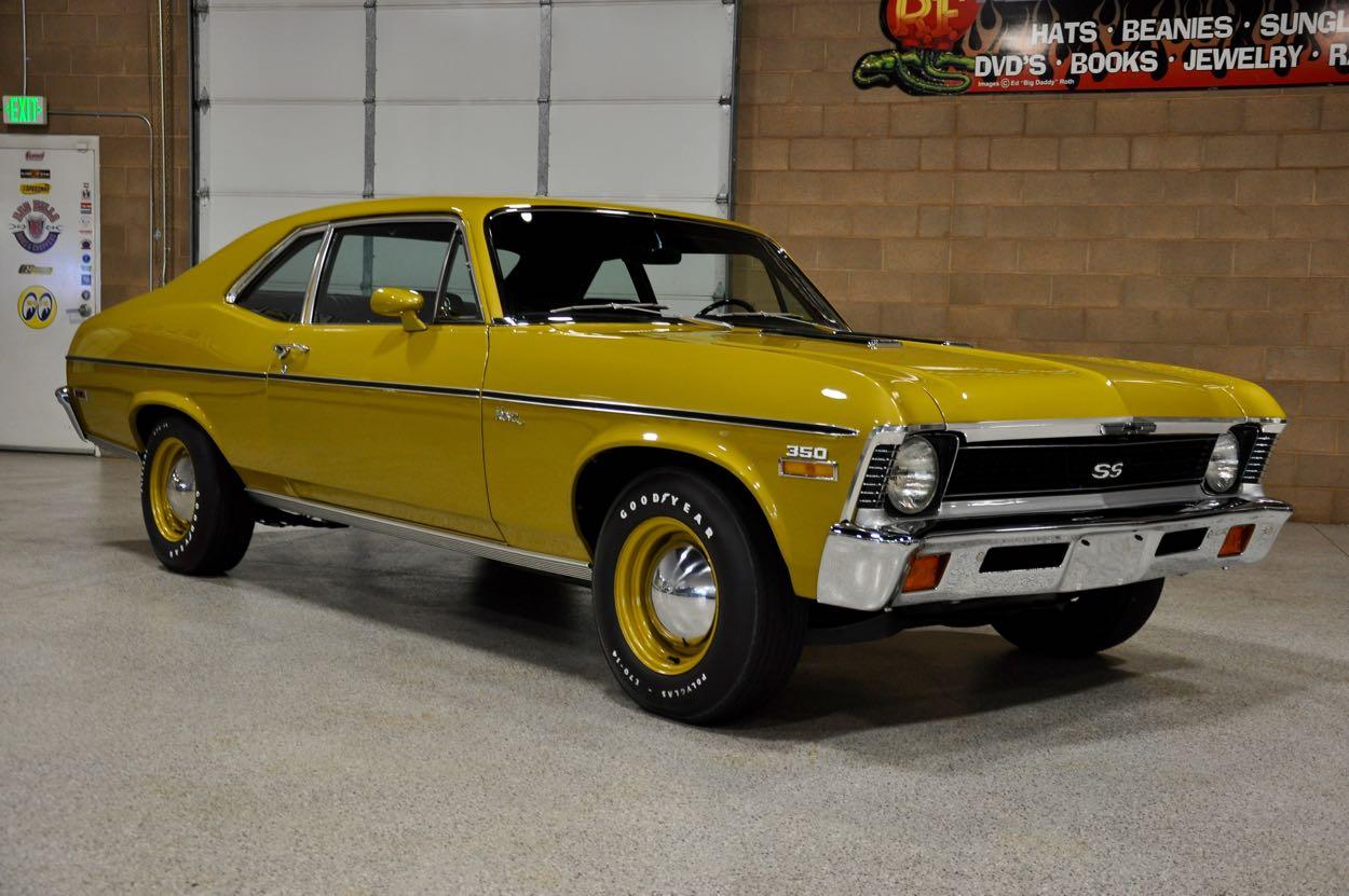 All Chevy black chevy nova ss : 1972 Chevrolet Nova 'SS'   Red Hills Rods and Choppers Inc. - St ...