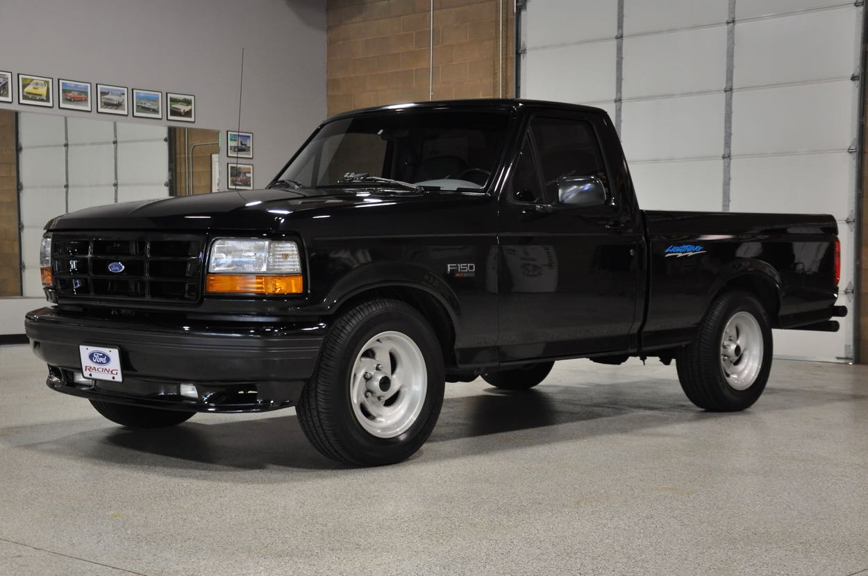 Blacked Out Ford F150 >> 1994 Ford SVT Lightning | Red Hills Rods and Choppers Inc. - St. George Utah