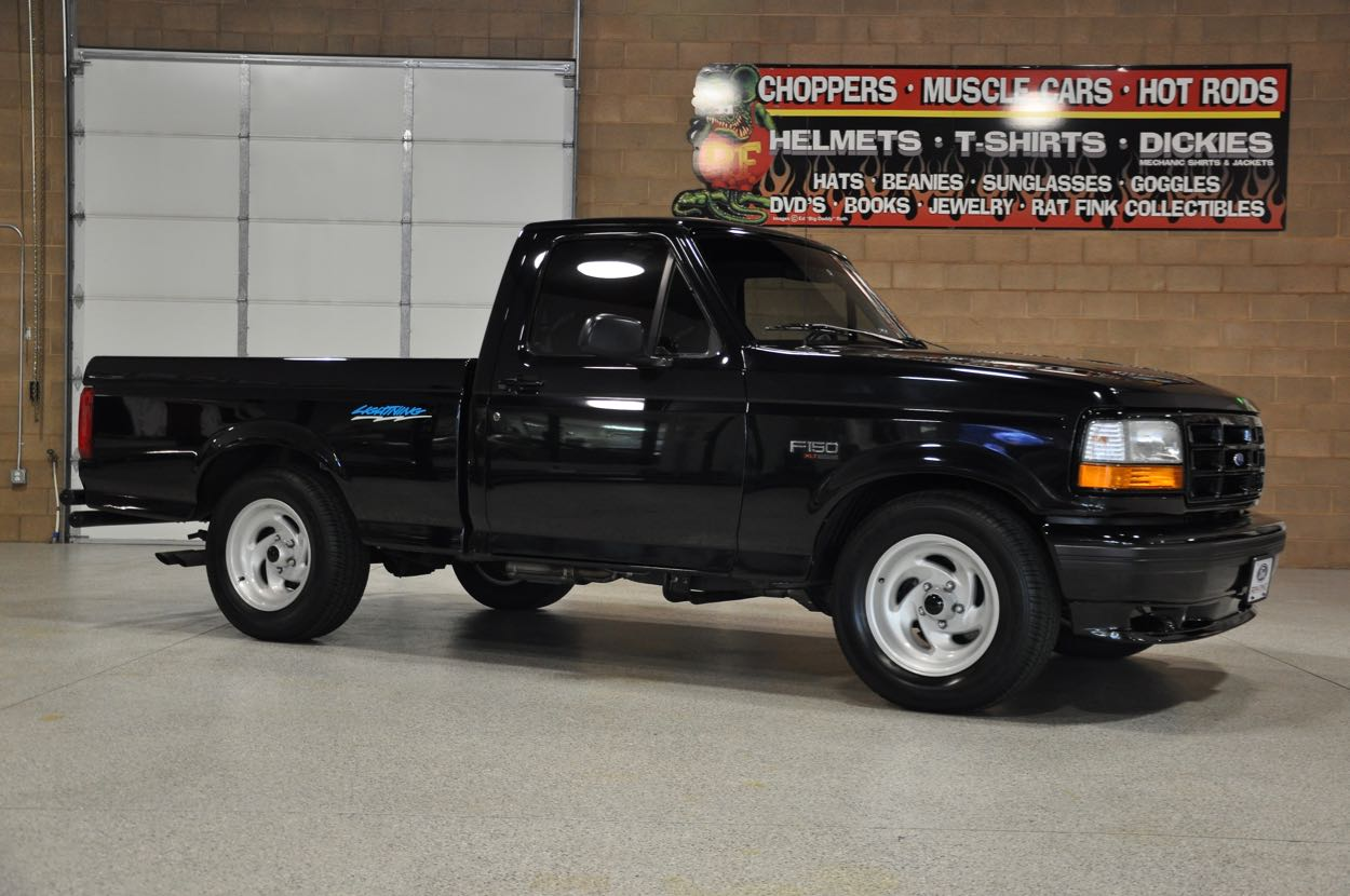 Showroom on Lowered 1994 Ford F 150 Lightning