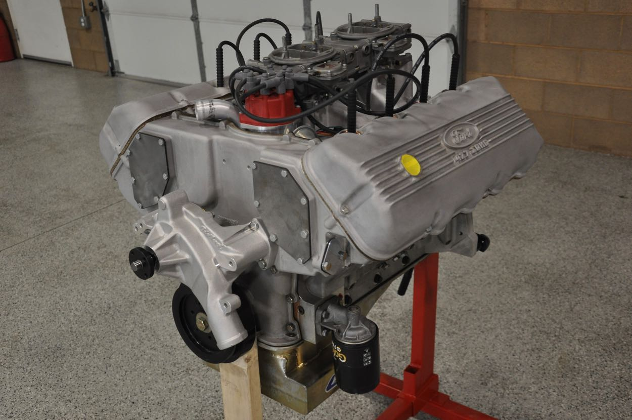 Custom-Built '427' Cammer Motor | Red Hills Rods and