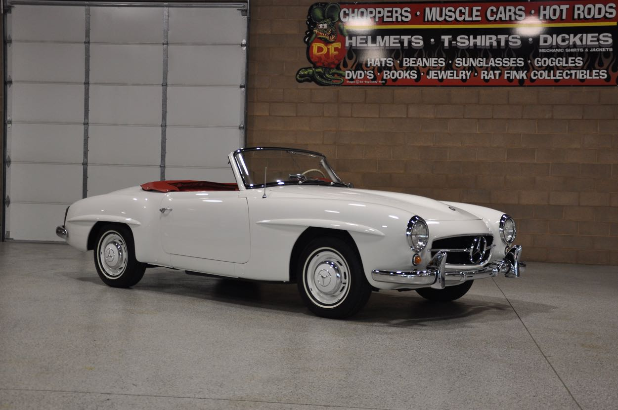 All Types 190 mercedes sl : 1956 Mercedes Benz 190 SL | Red Hills Rods and Choppers Inc. - St ...