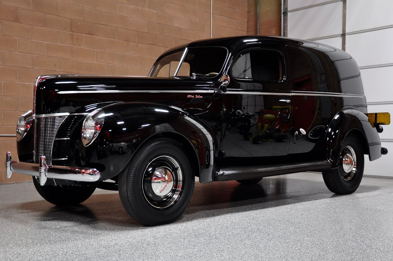 1940 ford deluxe sedan delivery wagon red hills rods and. Black Bedroom Furniture Sets. Home Design Ideas
