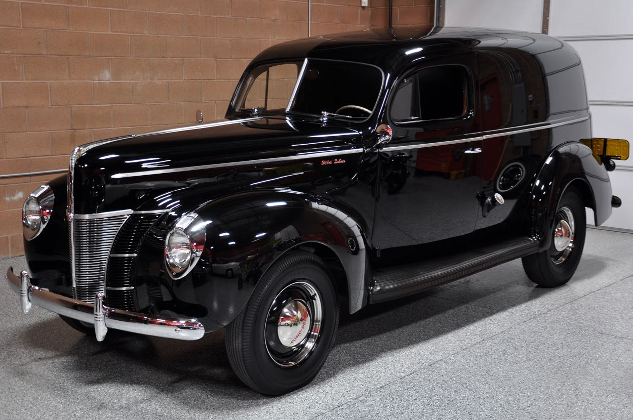 1940 Ford Deluxe Sedan Delivery Wagon | Red Hills Rods and