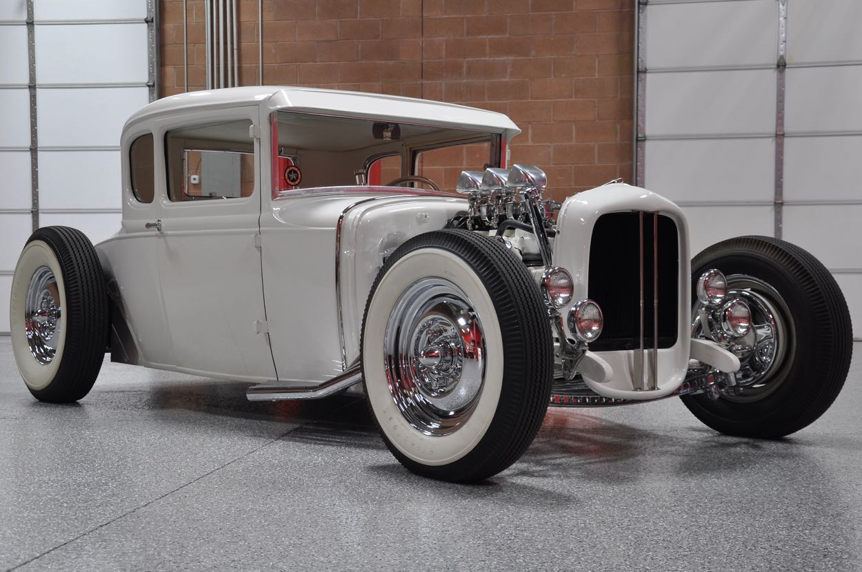 Paul Sr.\'s 1930 Ford Model A Coupe | Red Hills Rods and Choppers ...