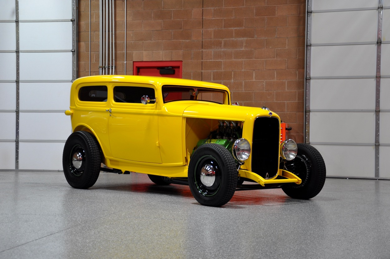 1932 Ford Chopped Sedan Hot Rod   Red Hills Rods and Choppers Inc ...