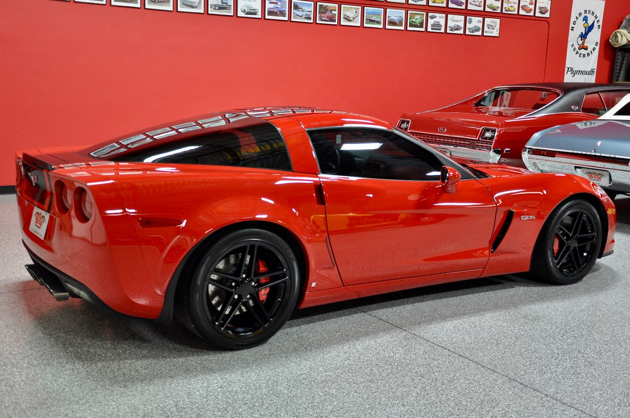 2008 Chevrolet Corvette Z06 Coupe Red Hills Rods And Choppers Inc St George Utah