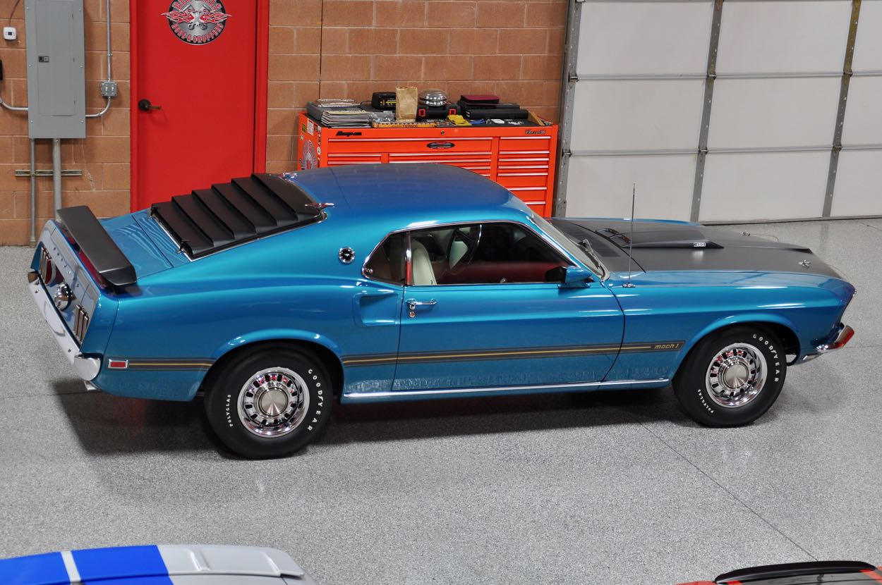 1969 Ford Mustang Mach 1 428 Super Cobra Jet Red Hills Rods And Torino Gt Convertible Choppers Inc St George Utah
