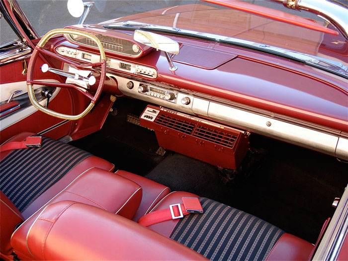 1960 Plymouth Fury Convertible Red Hills Rods And