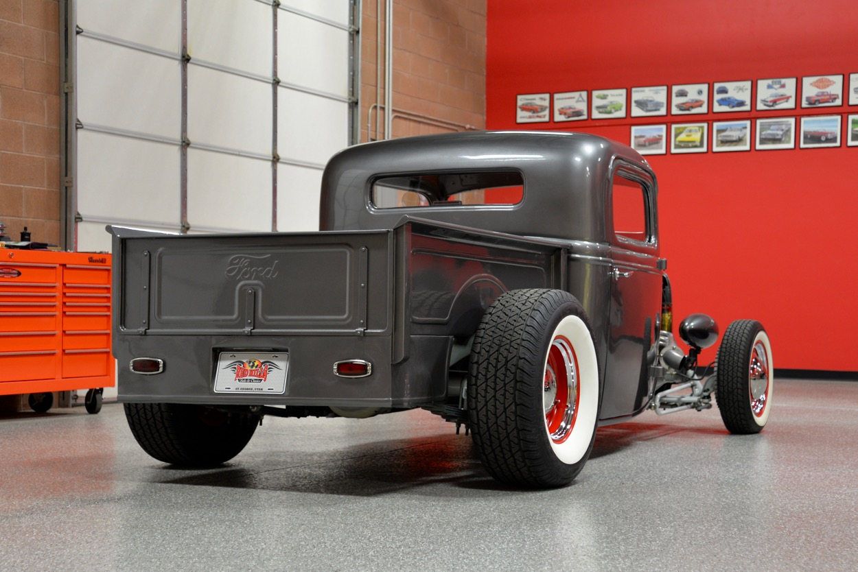 1936 Ford Hot Rod Pickup Red Hills Rods And Choppers Inc St Control Panel Wiring Harness For Home First Place Trophies Or One That Can Be Driven Enjoyed To The Fullest It Will Very Hard Beat This Gorgeous