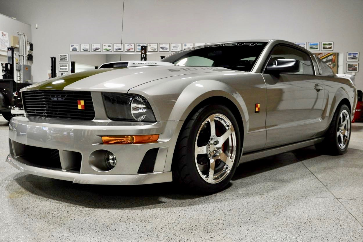 2008 Roush P51a Mustang Red Hills Rods And Choppers Inc