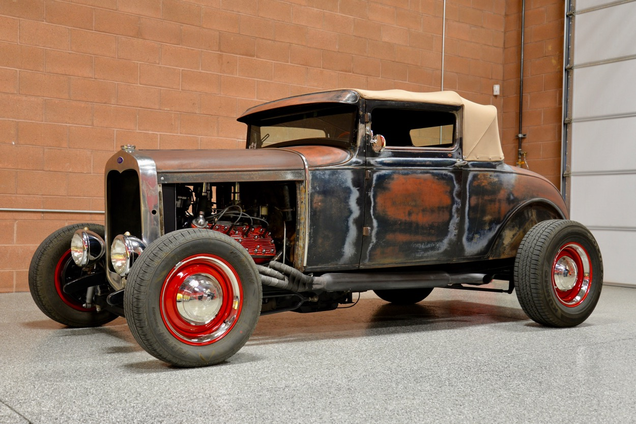 1928 Ford Model A Chopped Sport Coupe | Red Hills Rods and ...