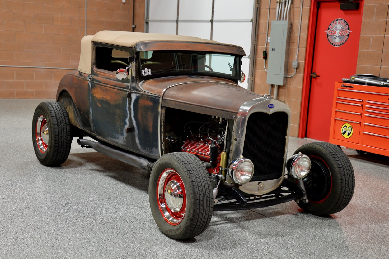 1928 Ford Model A Chopped Sport Coupe | Red Hills Rods and Choppers ...