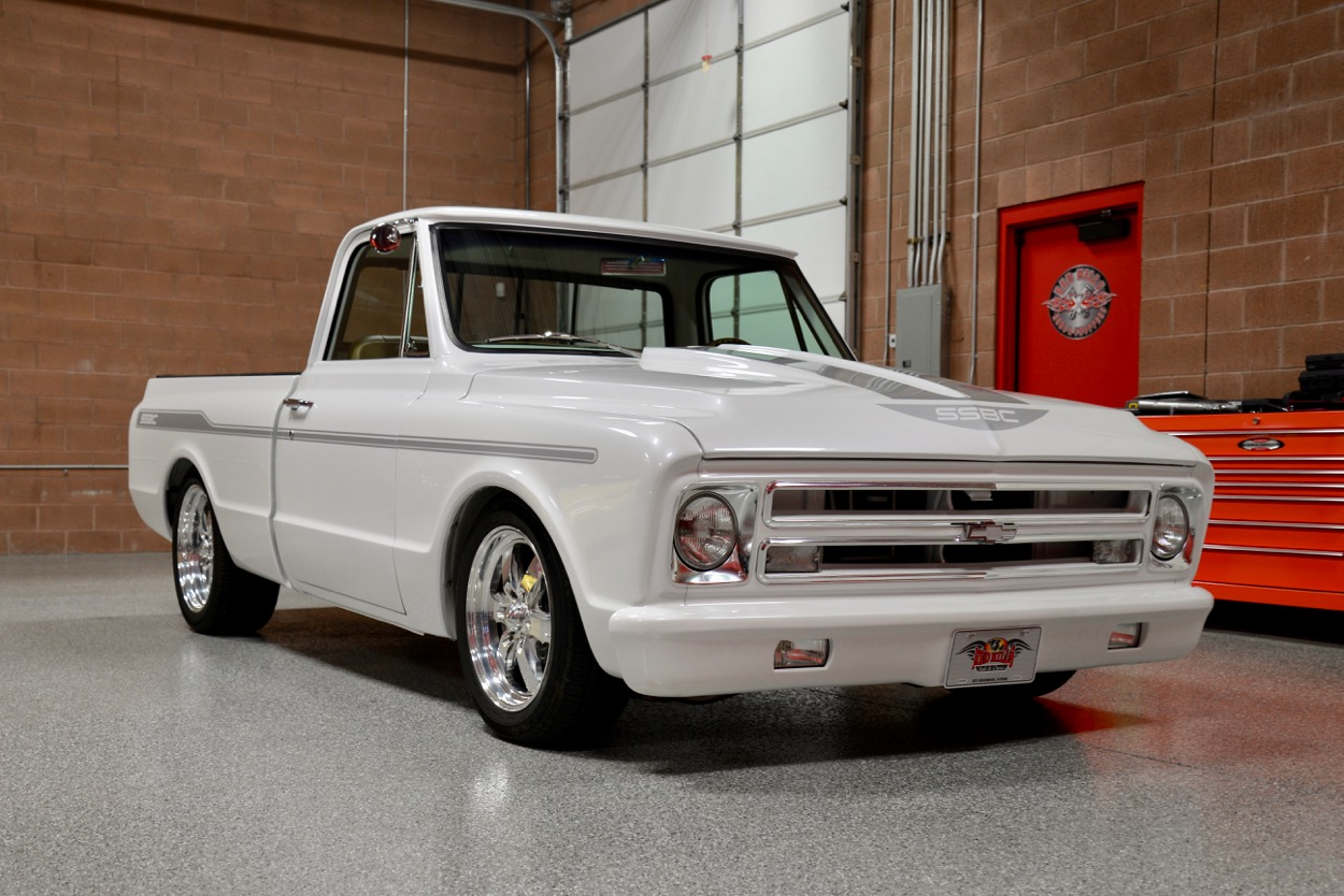 All Chevy chevy 1970 : 1970 Chevrolet C10 Custom SEMA SSBC Pickup | Red Hills Rods and ...
