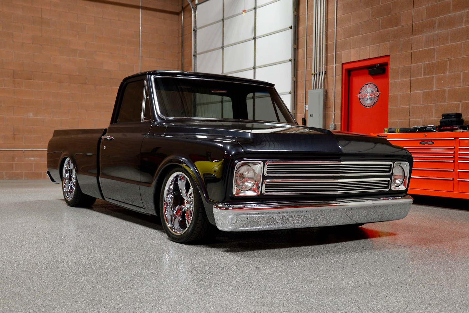 1967 Chevrolet C10 Custom Pickup Red Hills Rods And