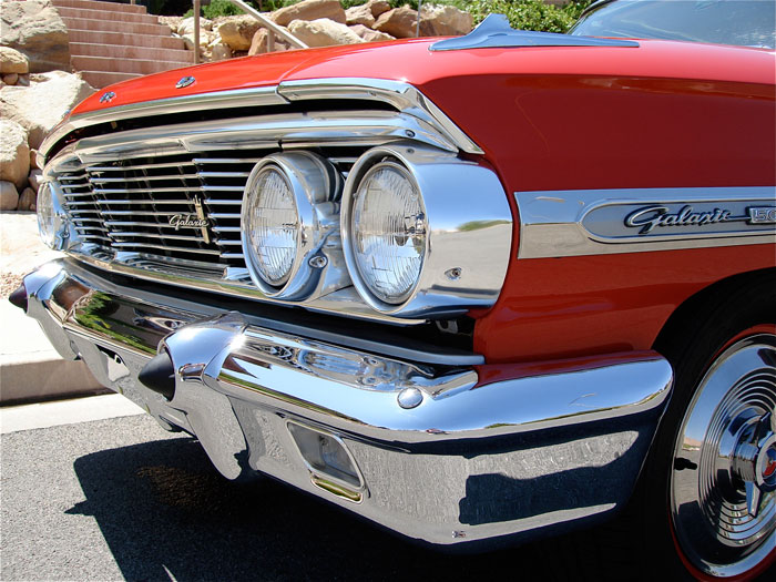 1964 Ford Galaxie 500 XL 427/425 R-Code 4-Speed | Red Hills