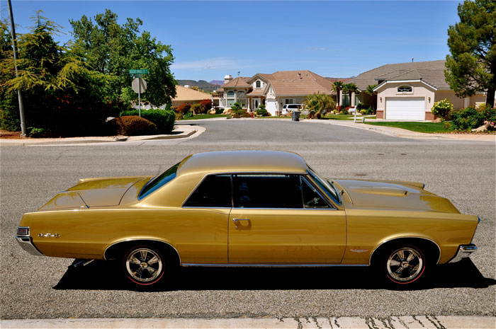 1965 Pontiac Gto Tiger Gold Red Hills Rods And Choppers