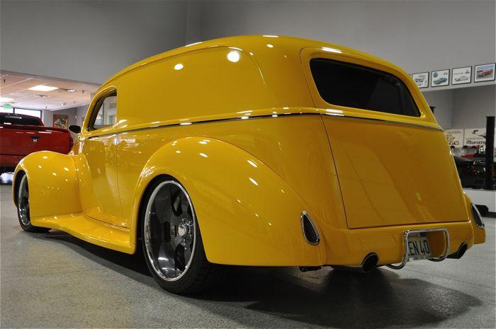1940 Ford Sedan Delivery Chip & Sam Foose | Red Hills Rods