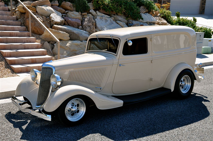 1934 Ford Sedan Delivery Truck | Red Hills Rods and Choppers Inc