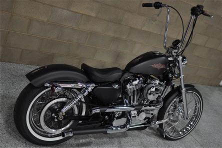 2012 Harley Davidson Xl 1200v Sportster 72 Red Hills