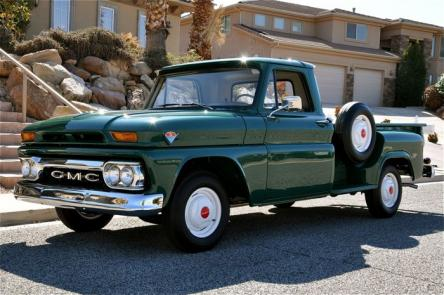 1965 Gmc C1000 Stepside Pickup Red Hills Rods And