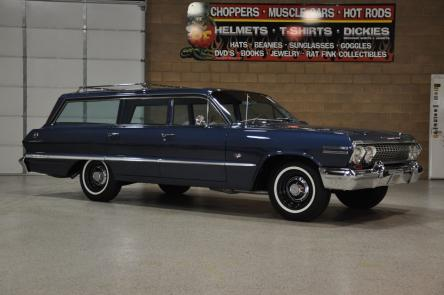 1963       Chevrolet    Impala 9Passenger Wagon   Red Hills Rods