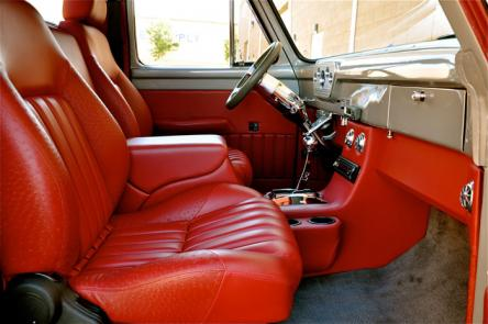 1955 Ford F100 Pickup Red Hills Rods And Choppers Inc